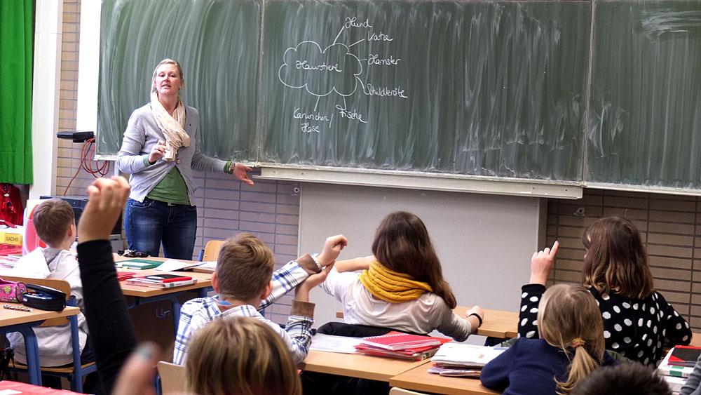 Im Otto-Hahn-Gymnasium ist morgen wieder Schule. © Stadt Herne_Horst Martens