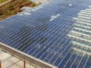 Solardach der Fortbildungsakademie Mont Cenis, © Thomas Schmidt, Stadt Herne
