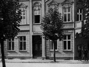 Das historische Amtshaus Sodingen um 1902