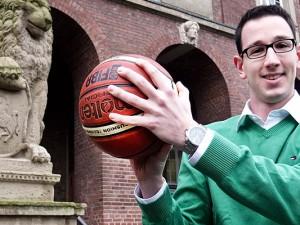 Pressesprecher Lars Winkelmann hofft am Pokal-Wochenende auf viele Besucher in der MCG-Arena. ©Stadt Herne, Michael Paternoga