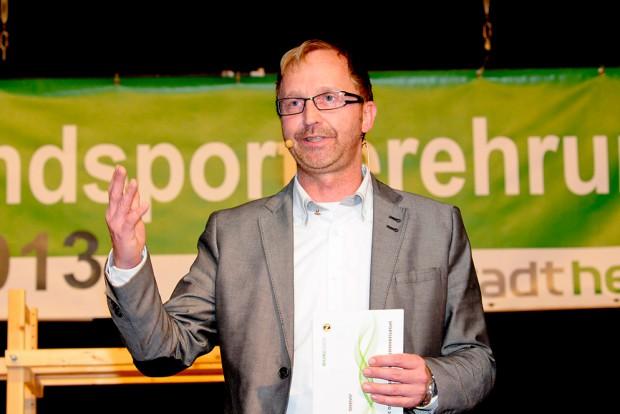 Moderator Mathias Gerth führte durch den Abend. Foto: Kisten Weber