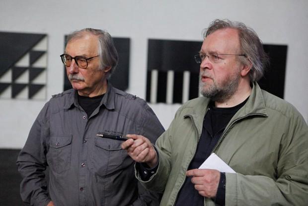 Szenen der Pressekonferenz. Bettenhausen mit Falko Herlemann, Kulturhistoriker und Journalist. Foto: Horst Martens