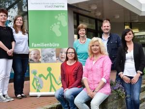 Das Team des Familienbüros. ©Thomas Schmidt, Stadt Herne