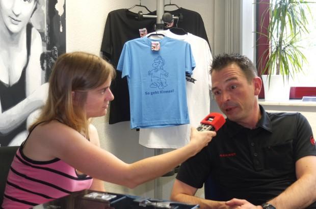 Wolfgang Keller und Kyra Preuss im Radio-Interview