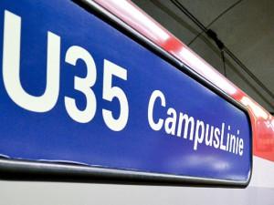 """Die """"U35 CampusLinie"""" bringt die Studenten schnell zu ihrem neuen Zuhause in Herne. © Stadt Herne, Thomas Schmidt"""