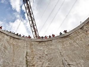 22 Meter unter der Erde: Vortriebsstart für weiteren Abschnitt des Abwasserkanals Emscher. © Christian Matzko, Stadt Herne