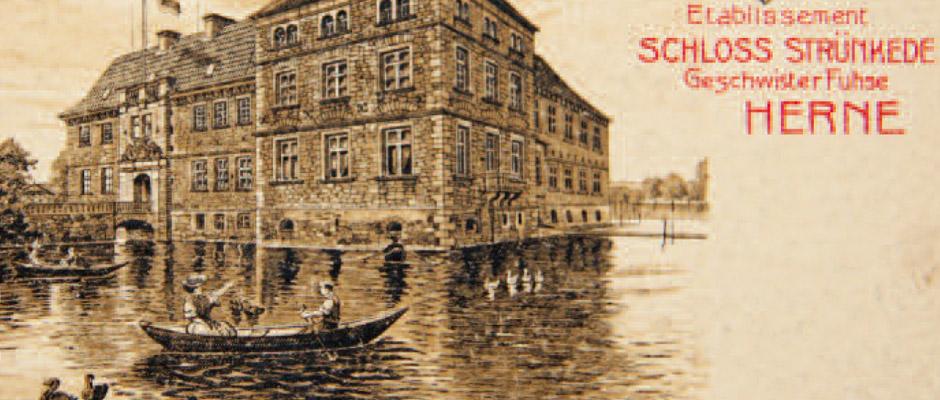 Eines von fünf Postkartenmotiven. © Stadt Herne