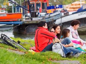 Freie Fahrt für Kanalliebhaber - Vollsperrung für motorisierte Schiffe. © KVR, Stefan Scheijok