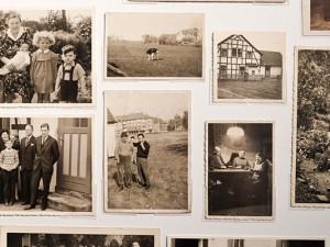 Fotowand, die mit nostalgischen Bildern bestückt wurde, die Museumsbesucher beisteuerten. © Stadt Herne, Thomas Schmidt