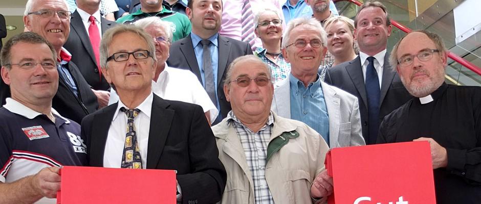 Sparkasse spendet Gelder an Vereine. © Christoph Huesken