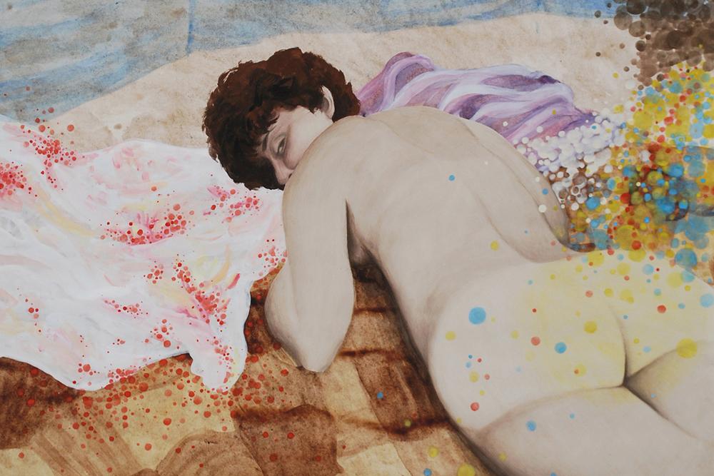 Mame Innete: Ohne Titel (Ausschnitt). © Kuboshow