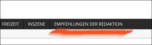 """Neuer Menupunkt """"Empfehlungen der Redaktion""""."""