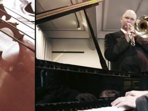 Die Musikschule stellt ihr Angebot vor (hier der Leiter und sein Stellvertreter, Christian Ribbe und Gerald Gatawis. © Stadt Herne, Thomas Schmidt.
