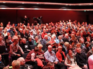 Tegtmeiers-Publikum im Kulturzentrum (2013). © Stadt Herne, Thomas Schmidt.