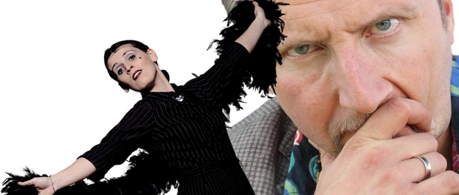 Treten im Comedy-Wettstreit gegeneinander an: Carmela de Feo versus Helmut Sanftenschneider.