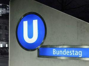 U-Bahnhof Bundestag, Berlin. ©Thomas Schmidt, Stadt Herne