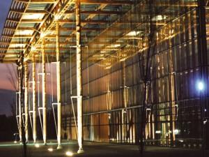 Ort unter Palmen in der Akademie Mont-Cenis. © Stadt Herne