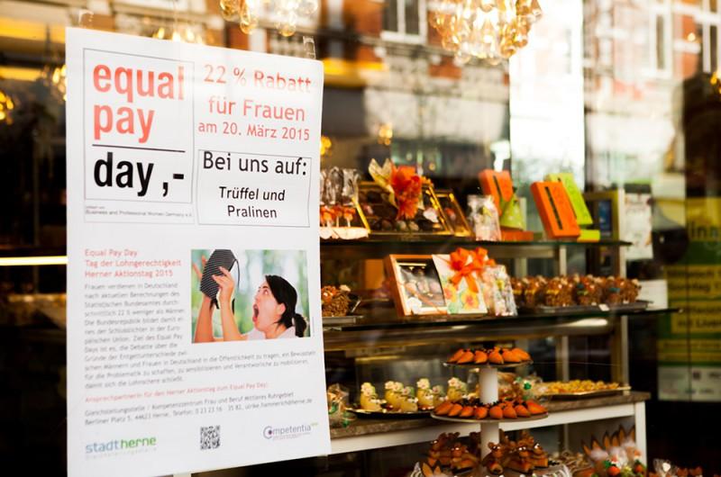 Pressekonferenz equal pay day ©Frank Dieper, Stadt Herne