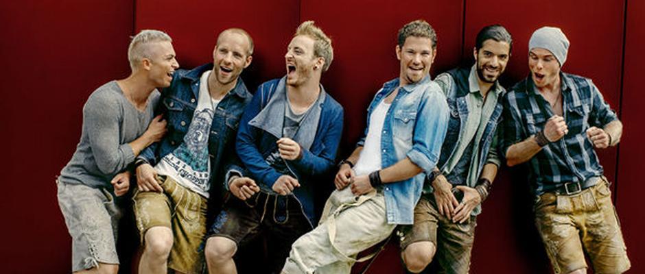 Die Jungs der Band voxxclub ©Universal Music