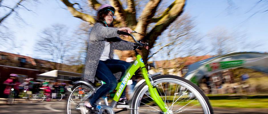 Sicher unterwegs auf zwei Rädern © Frank Dieper, Stadt Herne