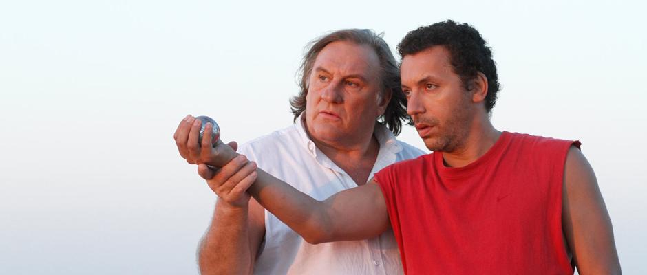 """Filmausschnitt aus """"Eine ganz ruhige Kugel"""" mit Gerard Depardieu."""