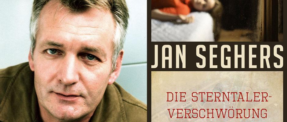 Seghers mit seinem neuen Krimi: Die Sterntaler-Verschwörung. © Susanne Schleyer, Kindler.
