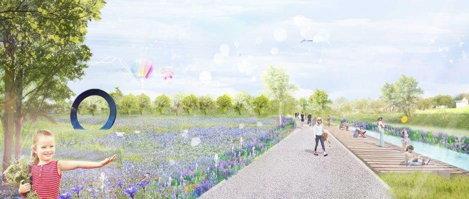 Visionen von der Landesgartenschau. © Emschergenossenschaft.