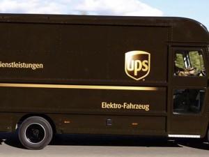 Ein Fahrzeug von UPS©UPS