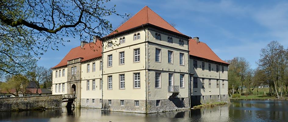 Auch Schloss Strünkede öffnet seine Türen. © Thomas Schmidt, Stadt Herne.