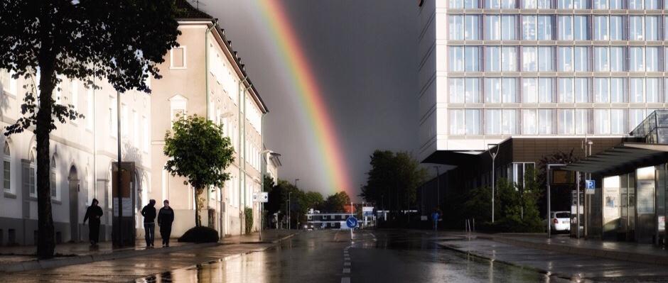 Da kündigt sich ein Starkregen an. ©Stadt Herne, Thomas Schmidt