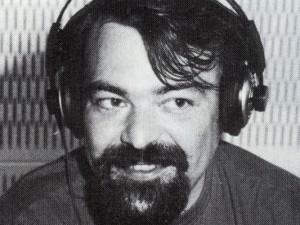 Chefredakteur Wolfgang Tatzel in einer der resten Sendungen.
