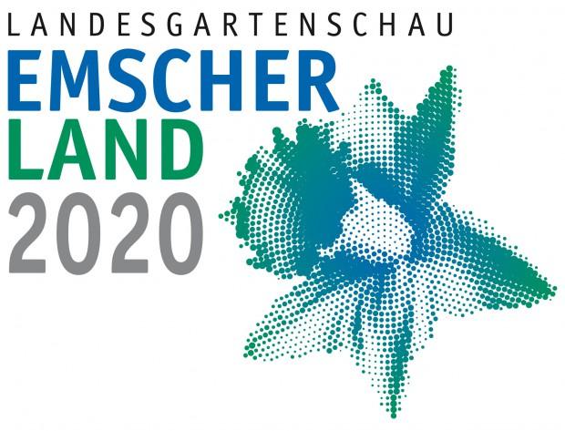 Das Logo der Landesgartenschau, wenn Herne und Co. den Zuschlag erhielten. © Emschergenossenschaft.