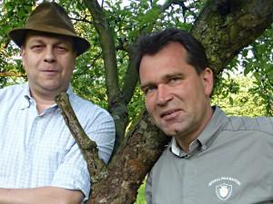 """Gestalten das """"Landwirtschaftliche Feuilleton"""": Hubertus A. Janssen und Jens Dirksen. © Dirksen"""