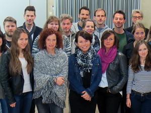 Das Team des Soziale Beratungsdienstes der Stadt Herne, die sich um den Schutz der Kinder kümmern. © Stadt Herne.