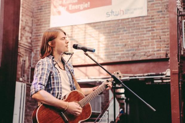 Patrick Nagel - bei seinem Auftritt in den Flottmann-Hallen. Foto: Mischa Lorenz.
