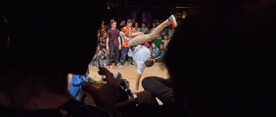 Breakdance-Veranstaltung von Pottporus. © Frank Dieper, Stadt Herne