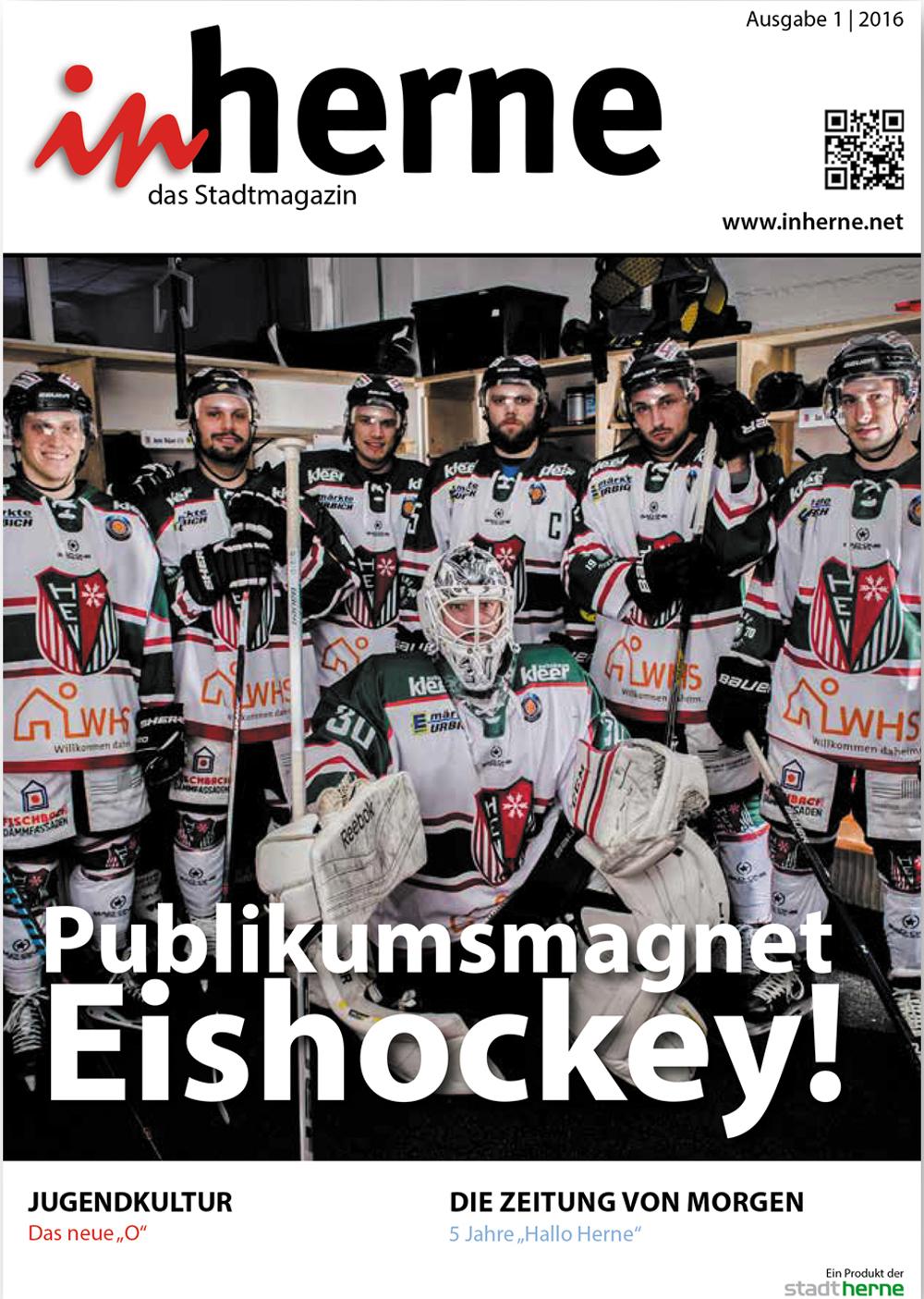 Titel der neuen inherne-Ausgabe (1/2016).