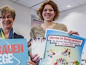 Sabine-Schirmer-Klug (l.) und Dr. Katrin Linthorst laden zur Fachtagung. Foto: Frank Dieper