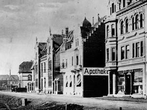 Die Bismarckstraße in Baukau. Foto: Archiv der Stadt Herne