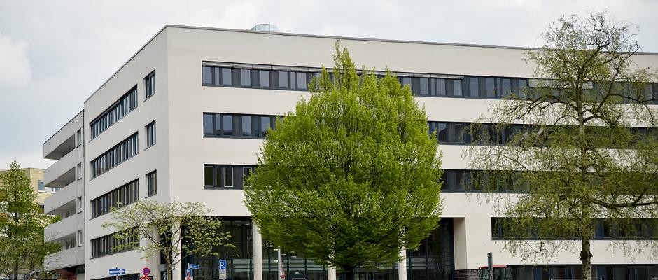 Das Finanzamt Herne. © Stadt Herne.