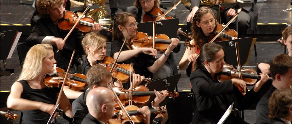 Die Herner Symphoniker feiern Jubiläum. © Stadt Herne, Thomas Schmidt.