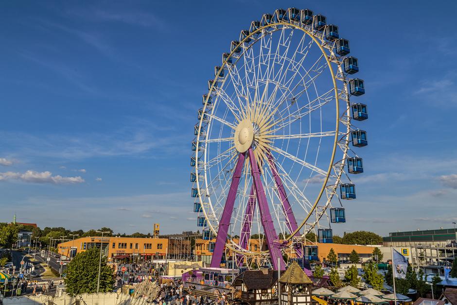 Sky-Lounge-Wheel in seiner ganzen Pracht. © Schumburg.