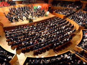1.300 geladene Gäste waren zur 70-Jahr-Feier des Landes NRW gekommen. Foto: Land NRW
