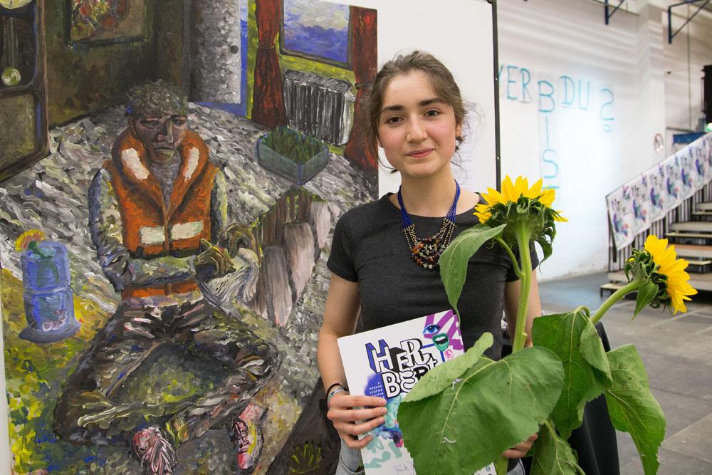 """Aylin Tokmak gewann den """"Herbert"""" der Classic-Jury. © Sascha Rutzen"""