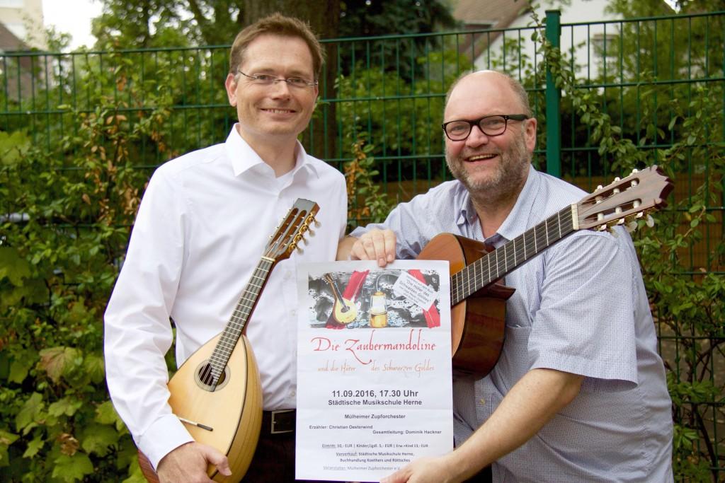 Zaubermandoline Christian Ribbe und Carsten Pierburg