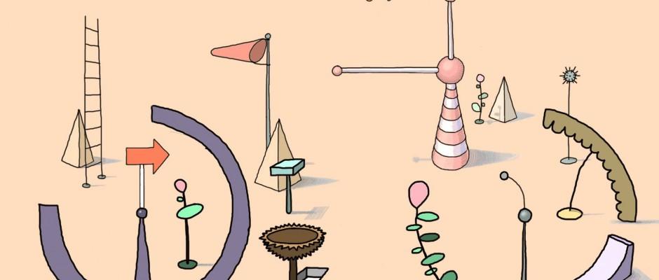 """Stilleben aus dem Animationsfilm """"Bicycle"""", USA. Foto: Dana Sink."""