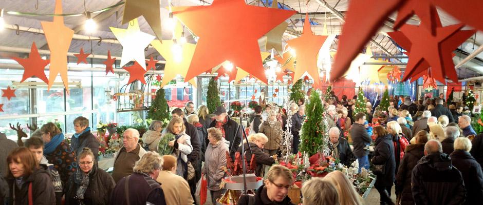 Weihnachtsmarkt der WfB Herne an der Nordstraße in Herne (NW), am Freitag (21.11.14). © Stefan Kuhn, WfB.