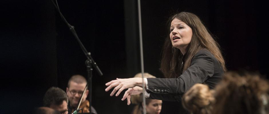"""Mit der Oper """"Silla"""" unter der Leitung von Dorothee Oberlinger endeten die Tage Alter Musik in Herne. © Thomas Kost, WDR."""