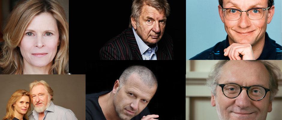Sie und viele andere kommen ins Literaturhaus: Rainer Moritz, Werner Schneyder, Wigald Boning, Leslie Malton, Felix von Manteuffel, Bernhard Aichinger und Willi Winkler.