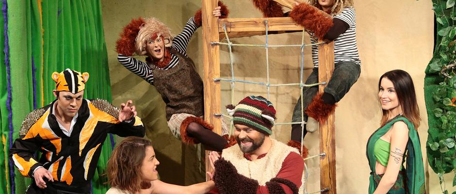 Das Dschungelbuch - als Musical auf die Bühne gebracht.